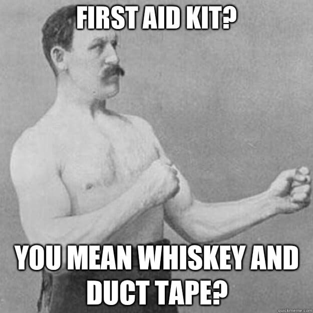 first aid kit for bail out bag