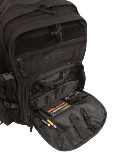 tactical backpack zippers