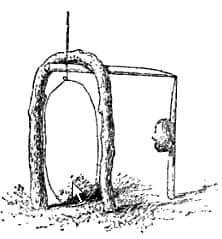 Pencil snare trap