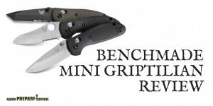 Benchmade Mini Griptilian Folding Pocket Knife Review