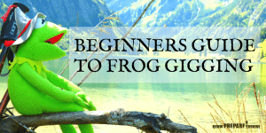 Beginners Guide to Frog Gigging + How to Make a Homemade Frog Gig