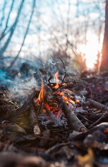 campfire without matches