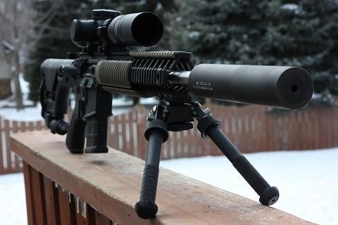 Best Legal Self Defense Weapons Semi Automatic Rifle AR 15 Gun