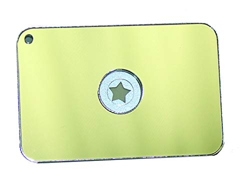 Signal mirror long distance morse code help sos communicate with rescuers