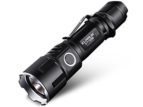Klarus XT11GT emergency survival tactical flashlight SOS strobe
