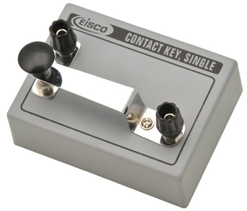Eisco contact key for learning and sending morse code