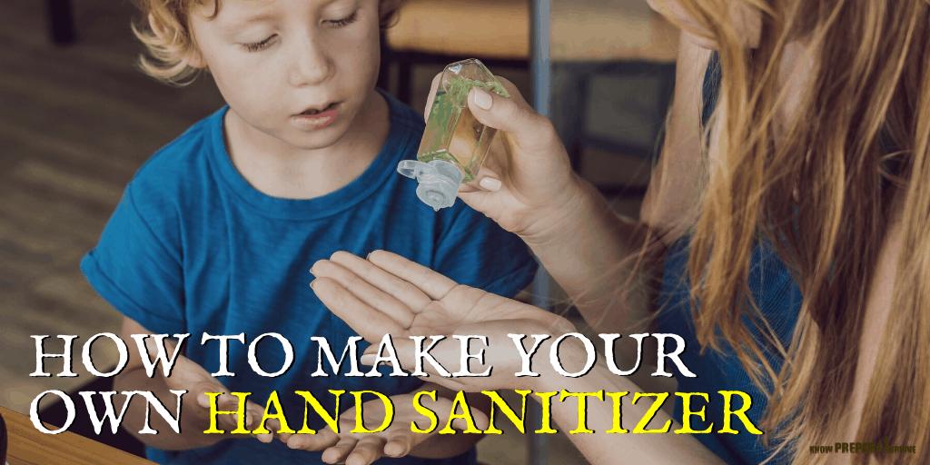 How to Make DIY Homemade Hand Sanitizer