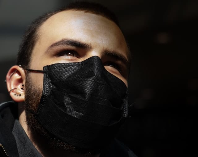 Can you wear DIY COVID-19 mask with beard seal petroleum jelly