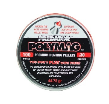 Polymer plastic hunting pellets high velocity advantages disadvantages