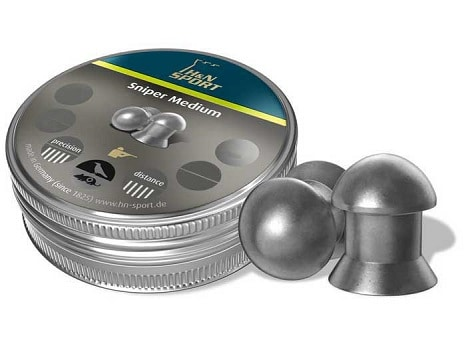 h n sport domed sniper pellets for accurate long range shooting with air rifle