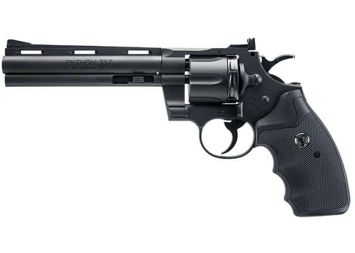 Colt Python BB Revolver fast fun accurate air pistol with cylinder