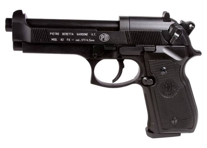Umarex Pietro Beretta Gardone 92 FS best blowback air pistols for practice shooting