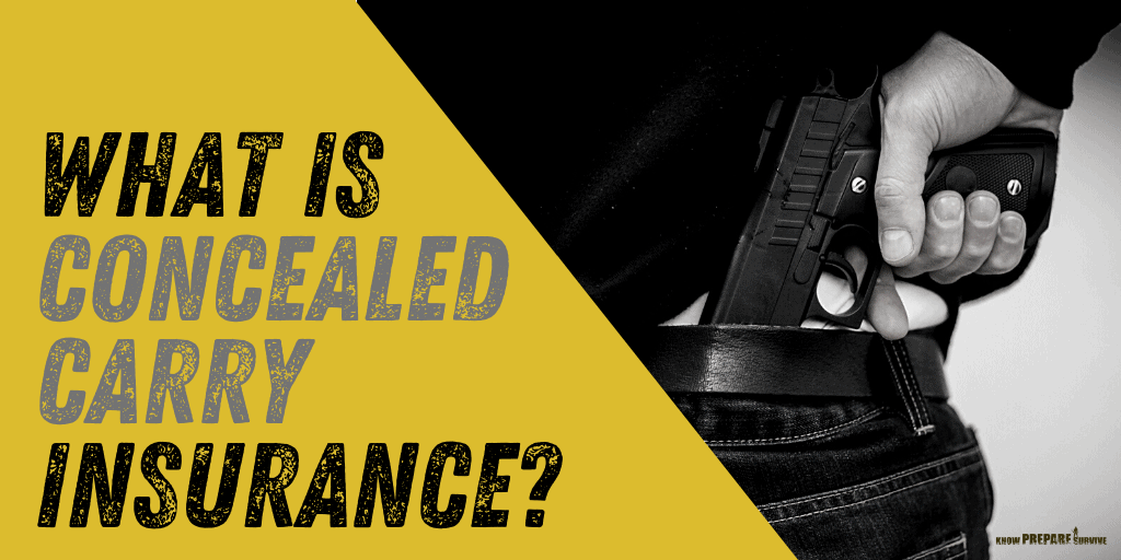 What is Concealed Carry CCW Insurance?